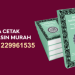 Biaya Cetak Buku Yasin Murah Di Solok Selatan